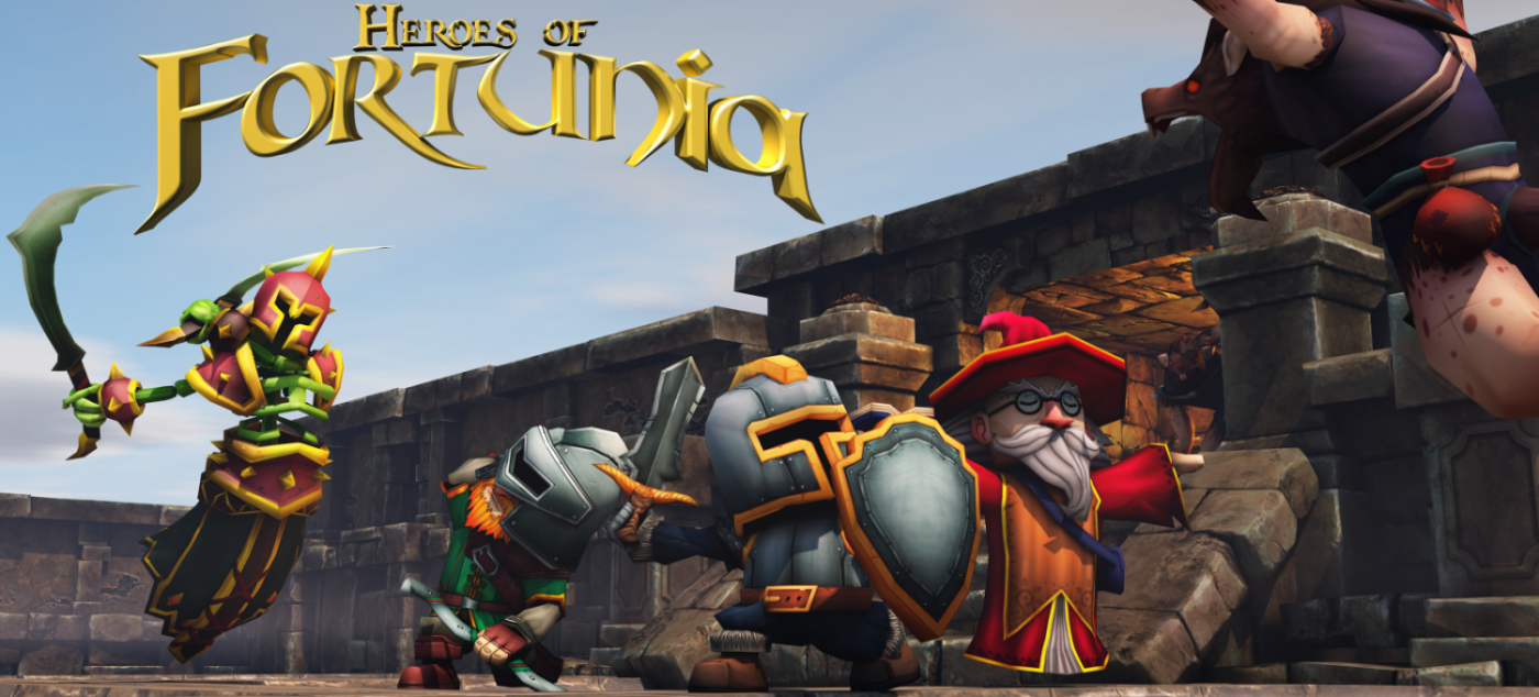 Heroes of Fortunia will be available in 2019