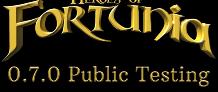 0.7.0 Public Testing has begun!
